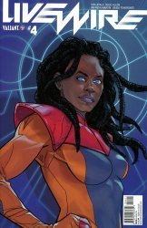 Valiant Entertainment's Livewire Issue # 4b
