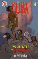 Cartoon Books's Tuki: Save the Humans Issue # 4