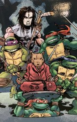 IDW Publishing's Teenage Mutant Ninja Turtles Issue # 100fingerprint-a