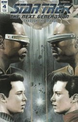 IDW Publishing's Star Trek the Next Generation: Through the Mirror Issue # 4
