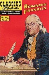 Gilberton Publications's Classics Illustrated #65: Benjamin Franklin Issue # 3