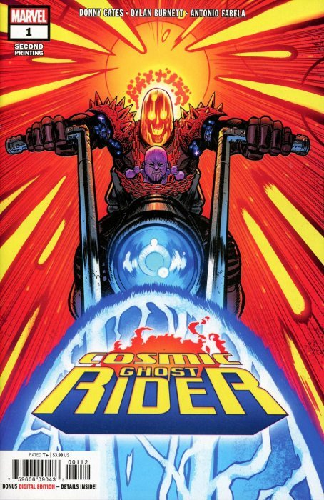 Marvel Comics Cosmic Ghost Rider NM-//M 2018