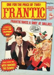 Marvel UK's Frantic Issue # 14
