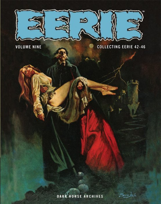 Eerie Archives Volume 6 by Dark Horse (Issues 28-31) Hardcover NEW and SEALED