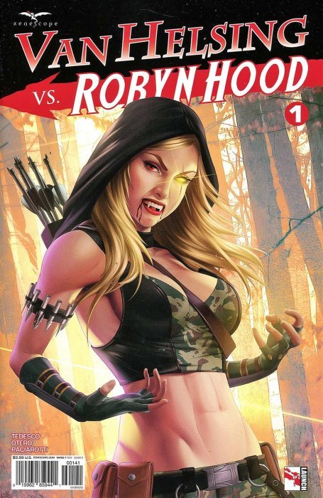 Grimm Fairy Tales Presents Robyn Hood V2 #5 NM Cover A or better