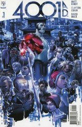 Valiant Entertainment's 4001 AD Issue # 1
