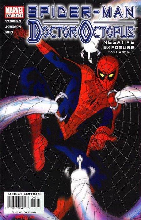 Spider-Man 2003 Doctor Octopus Negative Exposure 1 2 3 4 5 Set Run Lot Of 5