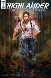 IDW Publishing's Highlander: American Dream Issue # 1sub