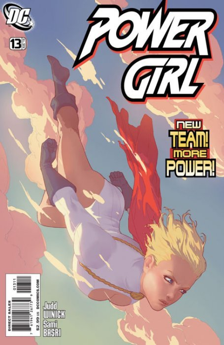 Power girl 7 dc comics for Powers bureau issue 13