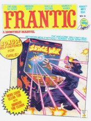 Marvel UK's Frantic Issue # 9