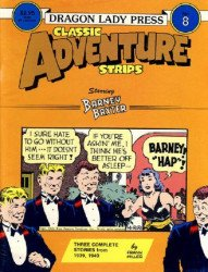 Dragon Lady Press's Classic Adventure Strips Issue # 8