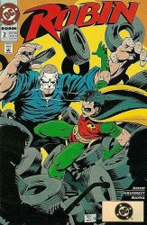 DC Comics's Robin Issue # 2b