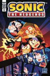 IDW Publishing's Sonic the Hedgehog Issue # 35ri