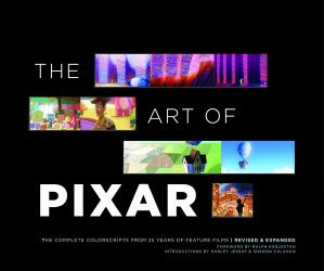 Chronicle Books's Art of Pixar Hard Cover # 1