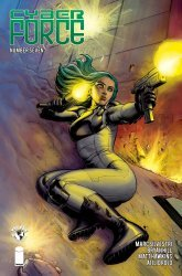 Top Cow's Cyberforce Issue # 7