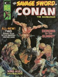 Curtis Comic Inc's The Savage Sword of Conan Issue # 3