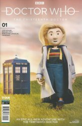 Titan Comics's Doctor Who: 13th Doctor Issue # 1j