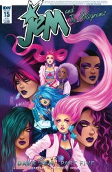 IDW Publishing's Jem and the Holograms Issue # 15sub