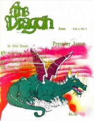 Wizards of the Coast's Dragon Magazine Issue # 1