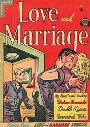 Superior Comics's Love and Marriage Issue # 3