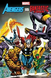 Marvel Comics's Avengers vs Fantastic TPB # 1