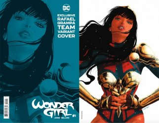 DC Comics's Wonder Girl Issue # 1d