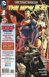 DC Comics's New 52: Free Comic Book Day Issue # 1kings comics
