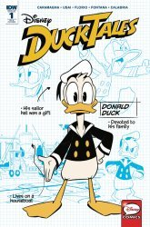 IDW Publishing's DuckTales Issue # 1ri