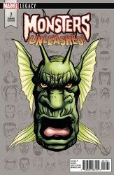 Marvel Comics's Monsters Unleashed Issue # 7c