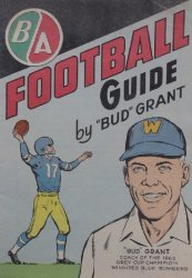 Gaines Productions Ltd.'s B/A Football Guide Issue nn