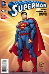 DC Comics's Superman Issue # 34e