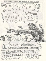 Jack D. Zastre's Bar Wars Issue # 2