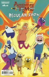KaBOOM!'s Adventure Time / Regular Show Issue # 5b