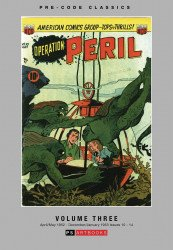 PS Artbooks's Pre-Code Classics: Operation Peril Hard Cover # 3