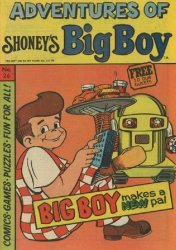 Paragon Products's Adventures of Shoney's Big Boy Issue # 26