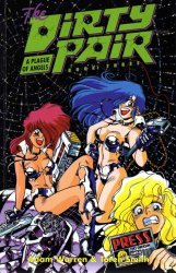 Eclipse Comics's Dirty Pair III: A Plague of Angels TPB # 1