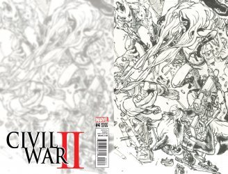 Marvel's Civil War II Issue # 4c