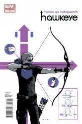 Marvel Comics's Hawkeye Issue # 2