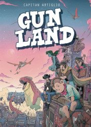 Magnetic Press's Gunland Soft Cover # 1