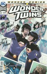 DC Comics's Wonder Twins Issue # 12