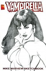 Harris Comics's Vampirella: Mike Mayhew Sketchbook Issue nn