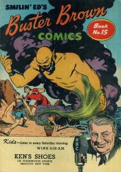 Buster Brown Shoes's Buster Brown Comics Issue # 15kens