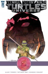 IDW Publishing's Teenage Mutant Ninja Turtles Universe Issue # 22b