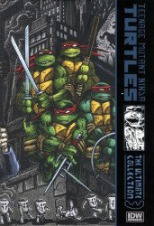 IDW Publishing's Teenage Mutant Ninja Turtles: Ultimate Collection Hard Cover # 3c