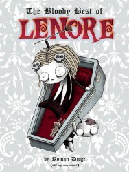 Titan Comics's The Bloody Best Of Lenore Hard Cover # 1