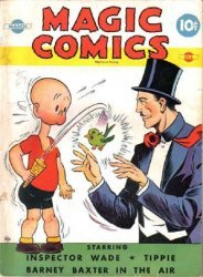 David McKay Publications's Magic Comics Issue # 8