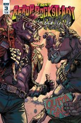IDW Publishing's Teenage Mutant Ninja Turtles: Bebop & Rocksteady Hit the Road Issue # 3b