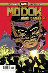 Marvel Comics's M.O.D.O.K.: Head Games Issue # 1