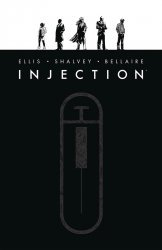 Image Comics's Injection Hard Cover # 1