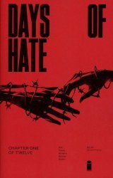 Image Comics's Days of Hate Issue # 1 - 2nd print